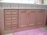 Oak-Pink Bathroom